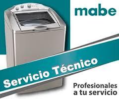 servicio tecnico lavadoras mabe